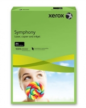 XEROX másolópapír, színes, A4, 80 g, Symphony, intenzív zöld