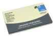 INFO NOTES jegyzettömb, öntapadós, 75x125 mm, 100 lapos, sárga