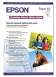 EPSON fotópapír, tintasugaras, A3+, 255 g, egyoldalas, fényes, Premium Glossy, S041316