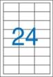 VICTORIA etikett, A4, 64,6x33,8 mm, 3 pályás, univerzális