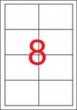 APLI etikett, A4, 97x67,7 mm, 2 pályás, univerzális