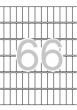 APLI etikett, A5, 12x30 mm, kerekített sarkú, 1155 db