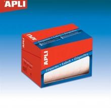 APLI etikett, 8x12 mm, kézzel írható, tekercses