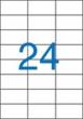 VICTORIA etikett, A4, 70x37 mm, 3 pályás, univerzális