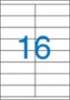 VICTORIA etikett, A4, 105x35 mm, 2 pályás, univerzális