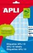 APLI etikett, 25x40 mm, kézzel írható, zöld