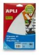 APLI etikett, A5, 8x45 mm, ékszercímke, 867 db