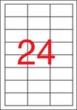APLI etikett, A4, 64,6x33,8 mm, 3 pályás, eltávolítható