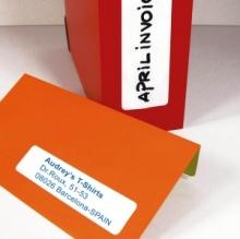 APLI etikett, A5, 5x35 mm, kerekített sarkú