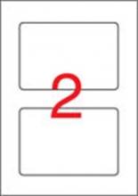 APLI etikett, A4, 150x100 mm, laminált