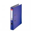 ESSELTE iratrendező, A4, 50 mm, PP/karton, élvédő sínnel, Economy, lila, E81174