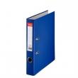 ESSELTE iratrendező, A4, 50 mm, PP/karton, élvédő sínnel, Economy, kék, E81195