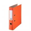 ESSELTE iratrendező, A4, 75 mm, PP/karton, élvédő sínnel, Economy, narancs, E11234