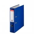 ESSELTE iratrendező, A4, 75 mm, PP/karton, élvédő sínnel, Economy, kék, E11255