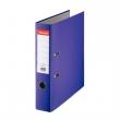 ESSELTE iratrendező, A4, 75 mm, PP/karton, élvédő sínnel, Economy, lila, E11279