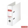 ESSELTE iratrendező, A5, 75 mm, PP/PP, élvédő sínnel, Standard, fehér, E468600