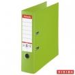ESSELTE iratrendező, A4, 80 mm, PP/PP, élvédő sínnel, Jumbo Plus, zöld, E81186