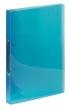 VIQUEL gyűrűskönyv, A4, 25 mm, 2 gyűrűs, PP, Propyglass, kék