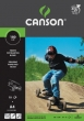 CANSON fotókarton, A4, 180 g, fekete