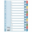 ESSELTE regiszter, A4, 1-12, Mylar