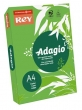 REY másolópapír, színes, A4, 80 g, Adagio, intenzív zöld
