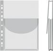 DONAU genotherm, lefűzhető, katalógustartó, A4, 170 mikron, 27 mm gerinc, víztiszta