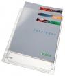 LEITZ genotherm, lefűzhető, katalógustartó, A4, 170 mikron, 20 mm gerinc,Jumbo, narancsos felület