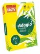 REY másolópapír, színes, A4, 80 g, Adagio, intenzív sárga