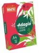 REY másolópapír, színes, A4, 80 g, Adagio, intenzív piros