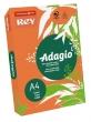 REY másolópapír, színes, A4, 80 g, Adagio, intenzív narancssárga