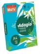 REY másolópapír, színes, A4, 80 g, Adagio, intenzív kék