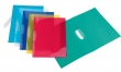 VIQUEL klipdosszié, A4, 20 lap, PP, PropyGlass, V-Clip, vegyes szín
