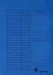 MULTIBRAND gyorsfűző, A4, karton, márványos kék
