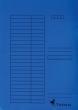 VICTORIA okmánytartó, A4, karton, kék