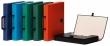 DONAU irattáska, 319x240x50 mm, PP, borított, karton, türkizkék