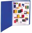 VIQUEL prezentációs mappa, A4, 40 zsebes, kék