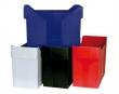 DONAU függőmappa tároló, 365x260x163 mm, üres, fekete