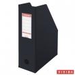 ESSELTE iratpapucs, karton, PP borítású, 100 mm, fekete, E56077