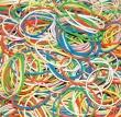 DONAU gumigyűrű, 0,5 kg, vegyes szín