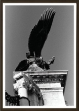 képkeret, 21x30 cm, Classic, matt fekete