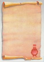 APLI mintás levélpapír, A4, 90 g, pecsételt pergamen