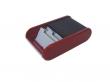 HELIT névjegytartó, fekvő, rolós, 300 db-os, Linear, piros