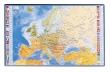 VIQUEL könyökalátét, 36,5x59,5 cm, Európa-térkép