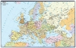 VICTORIA könyökalátét, 36x59 cm, Európa közigazgatása