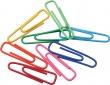 CENTRUM gémkapocs, 28 mm, műanyag, színes