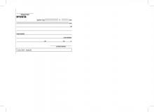 VICTORIA nyugta átvételi elismervény, A6, 50x3 lapos, B.13-67