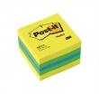 3M POSTIT jegyzettömb, öntapadós, 51x51 mm, 400 lapos, POST-IT, lime
