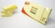 APLI jegyzettömb, öntapadós, 38x51 mm, 100 lapos, sárga
