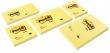 3M POSTIT jegyzettömb, öntapadós, 76x127 mm, 100 lapos, POST-IT, sárga