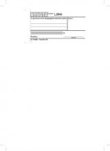 VICTORIA nyugta, egysoros, 50x2 lapos, B.15-40
